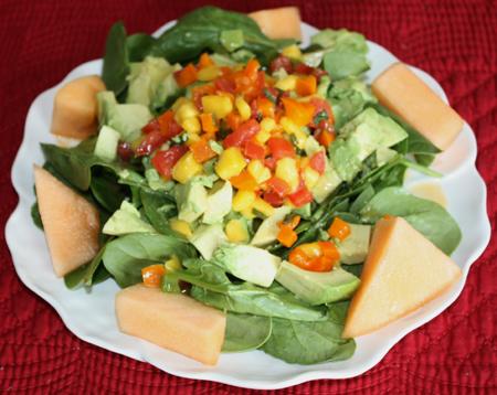 how to make mango salad dressing