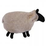 Beige with Black Sheep Warmer