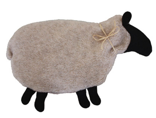 Beige with Black Sheep Warmer