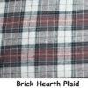 Brown, Beige, & Black Plaid flannel