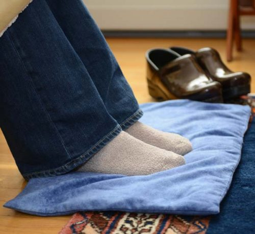 Foot Warmer Pads bring warmth & relaxation to tired feet