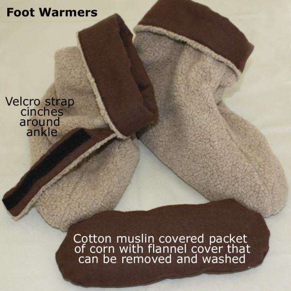 Foot Warmers Showing One Of The Inserts