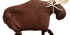 Maine Moose microwave heating pad for sore muscles