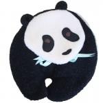Panda Bear microwave heating pad front view