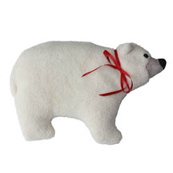 Polar Bear White Heating Pad