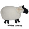 White Sheep with Black Face & Feet