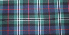 Blue, green, teal, black, & red plaid