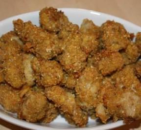 Fried Oysters -- gluten-free