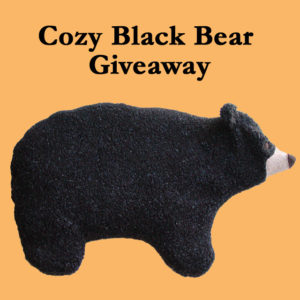 Black bear Heating Pad