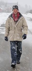 xl neck warmer in snow
