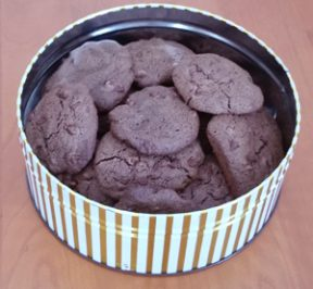 Double Chocolate Drop Cookies -- Gluten-free