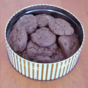 Double Chocolate Drop Cookies -- Gluten-free